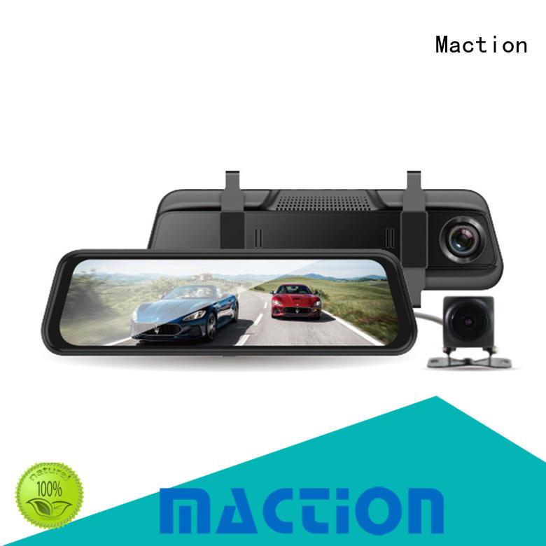 Maction design rear view mirror camera supplier for street